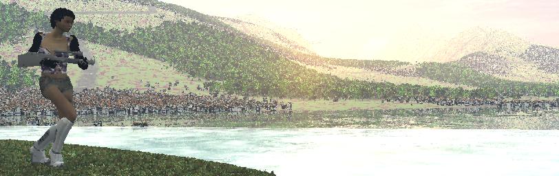 Creating a nice CGI landscape. (4/6)