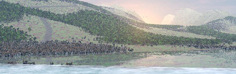 Creating a nice CGI landscape. (3/6)