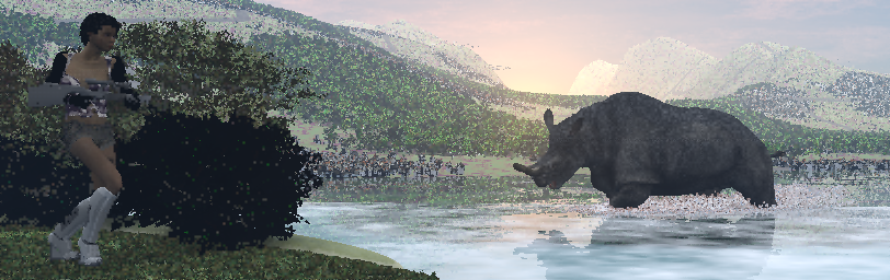 Creating a nice CGI landscape. (6/6)