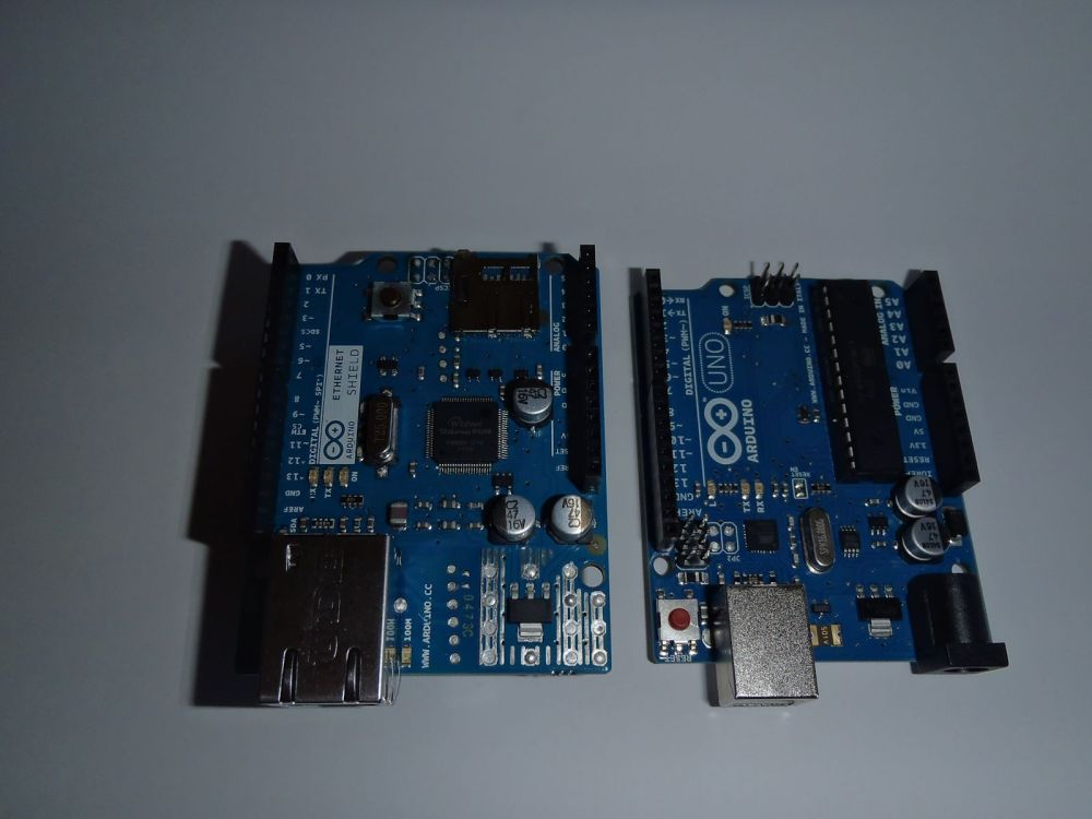 The Arduino and the Raspberry Pi. (3/6)