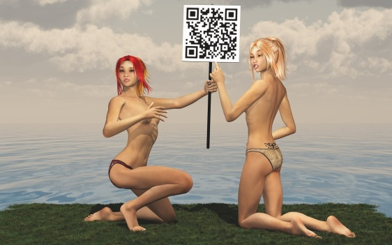 Fiona and Fanny with Bitcoin Sign.jpg